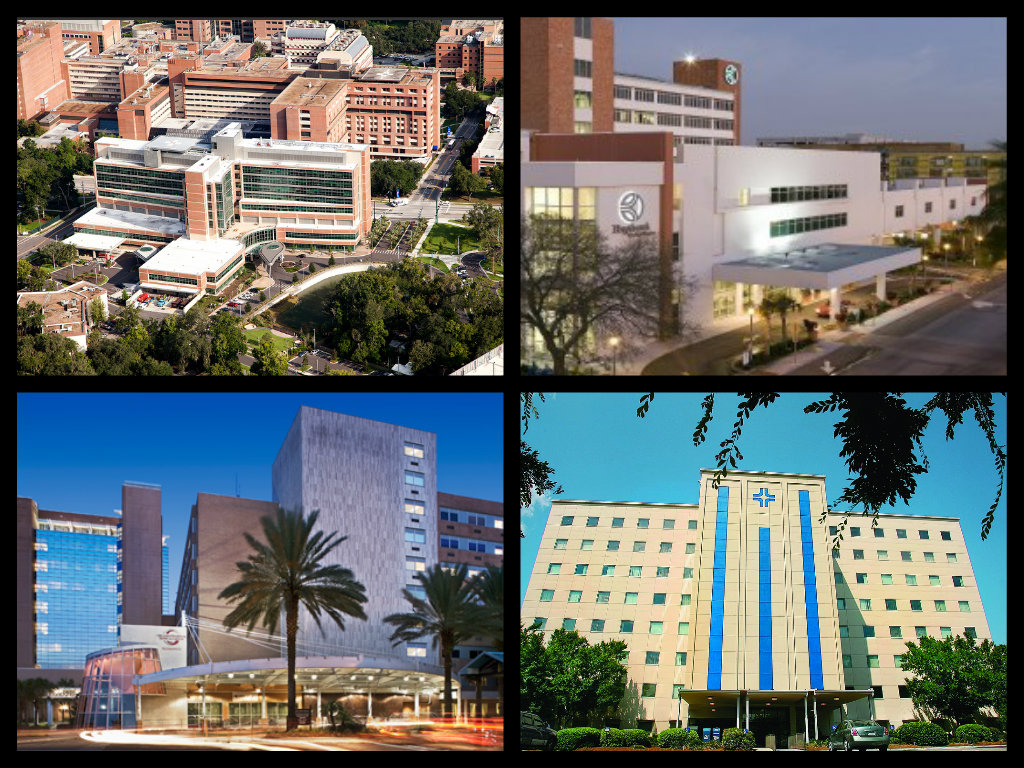 UF Health Shands Hospital Affiliations