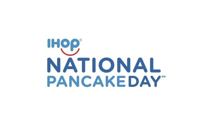 IHOP National Pancake Day wordmark
