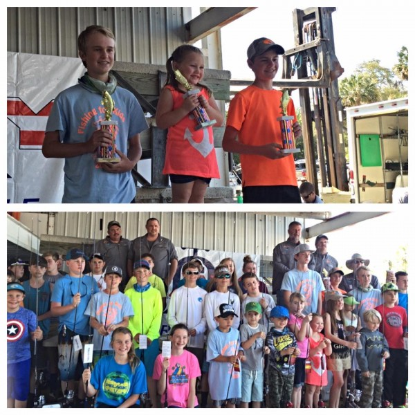 Thanks to our 50-plus youth anglers who participated in Fishing for Kids this year at Sea Hag Marina. The top three participants brought in the largest trout of the day to benefit Children's Miracle Network Hospitals.