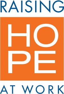 Raising Hope at Work employee giving campaign logo