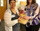 Patient and Family Resources holds basket raffle