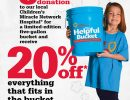 Ace Hardware Miracle Bucket Campaign