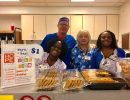 PACU staff hold RHW bake sale