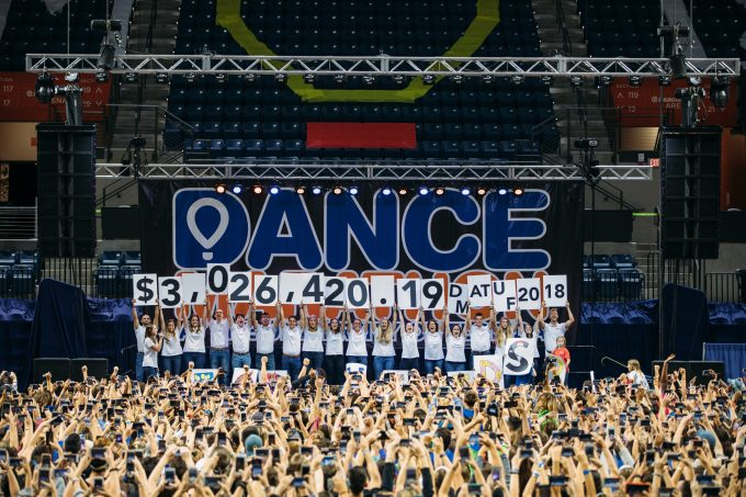 Dance Marathon at the University of Florida revealed a historic total of $3,026,420.19 for 2017-18!