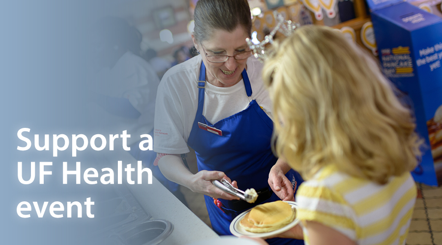 Join an event to support UF Health, or find out ways you can host your own event.