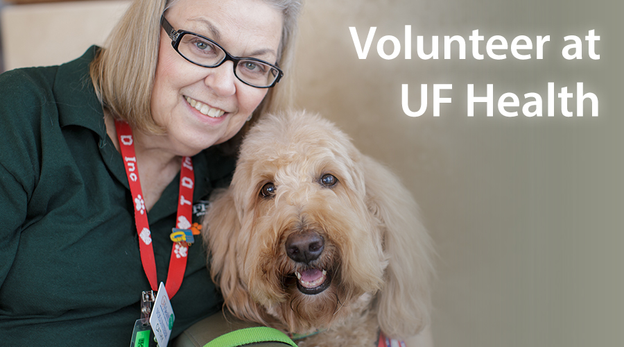 UF Health has many volunteer opportunities available for individuals, groups, students and others.