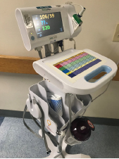 Vital monitors on Units 44 and 45 purchased with CMN Hospitals funds.