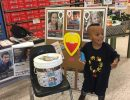 CMN Ambassador Declan visits his local Publix during the CMN Hospitals campaign.