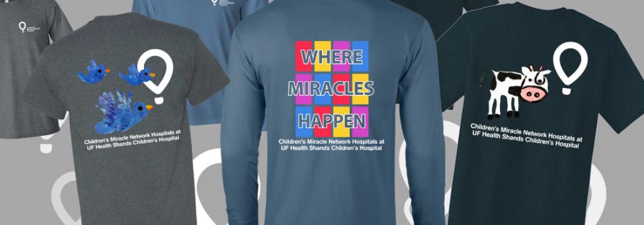 Three T-Shirt options for CMN Store Days