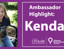 Ambassador Highlight: Meet Kendall