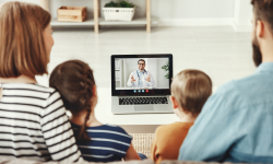 Pediatric telemedicine appointment