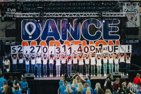 Dance Marathon at UF raises $2.27 million for 2020-21.
