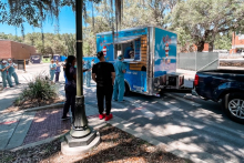 B'z Gelati was one of fourteen local community organizations and area businesses to contribute treats to UF Health nurses.