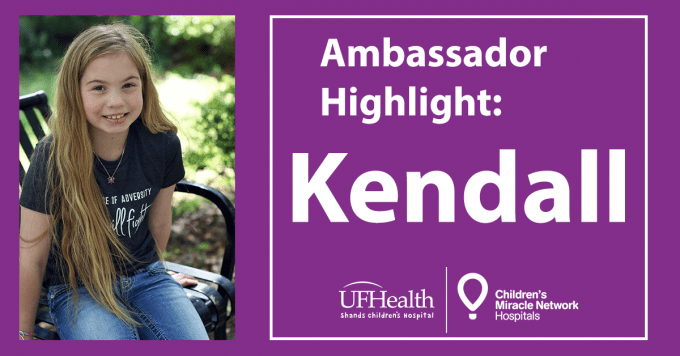 CMN Ambassador Highlight: Kendall Lewis