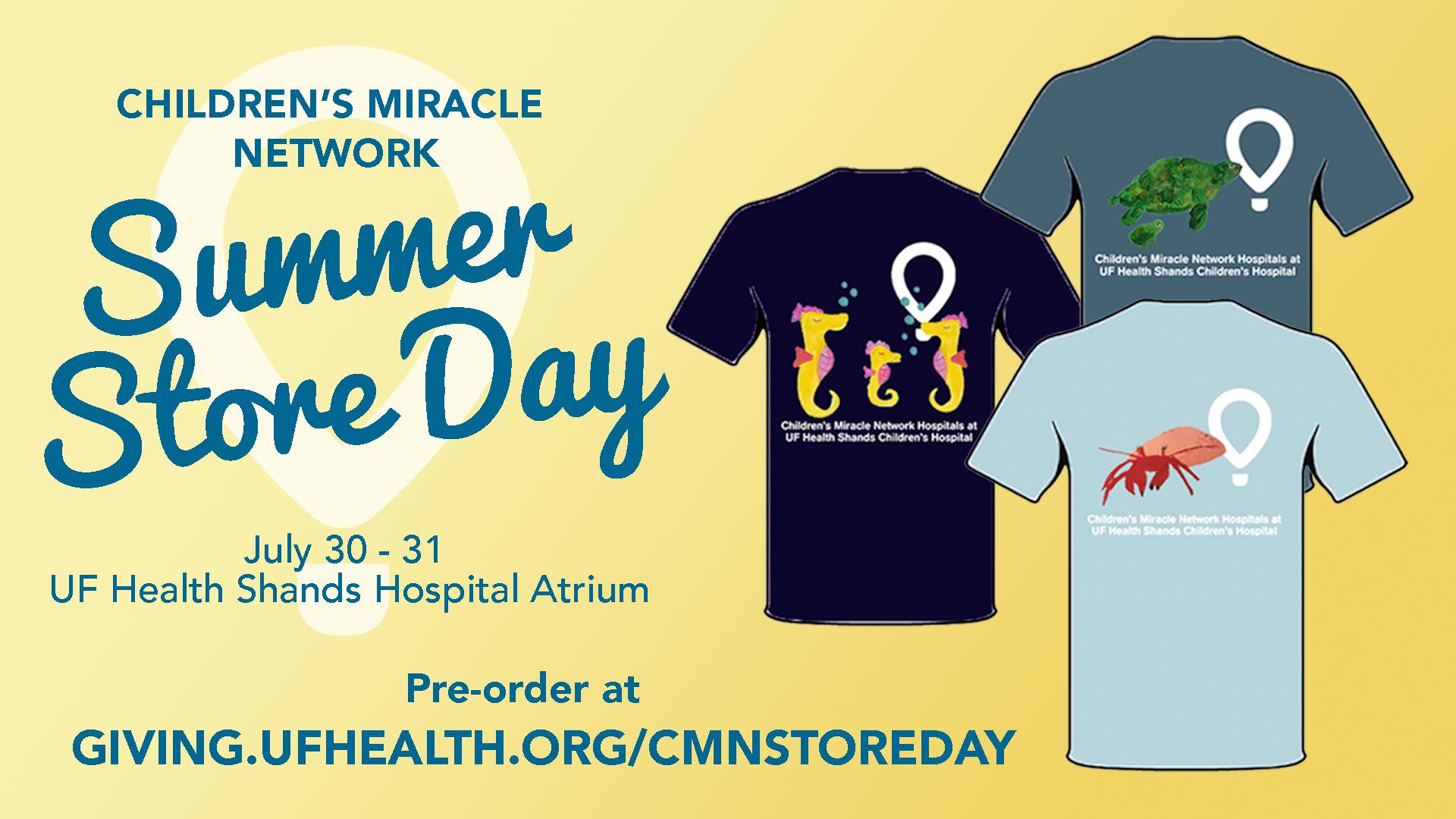 CMN Store Day Summer Sale