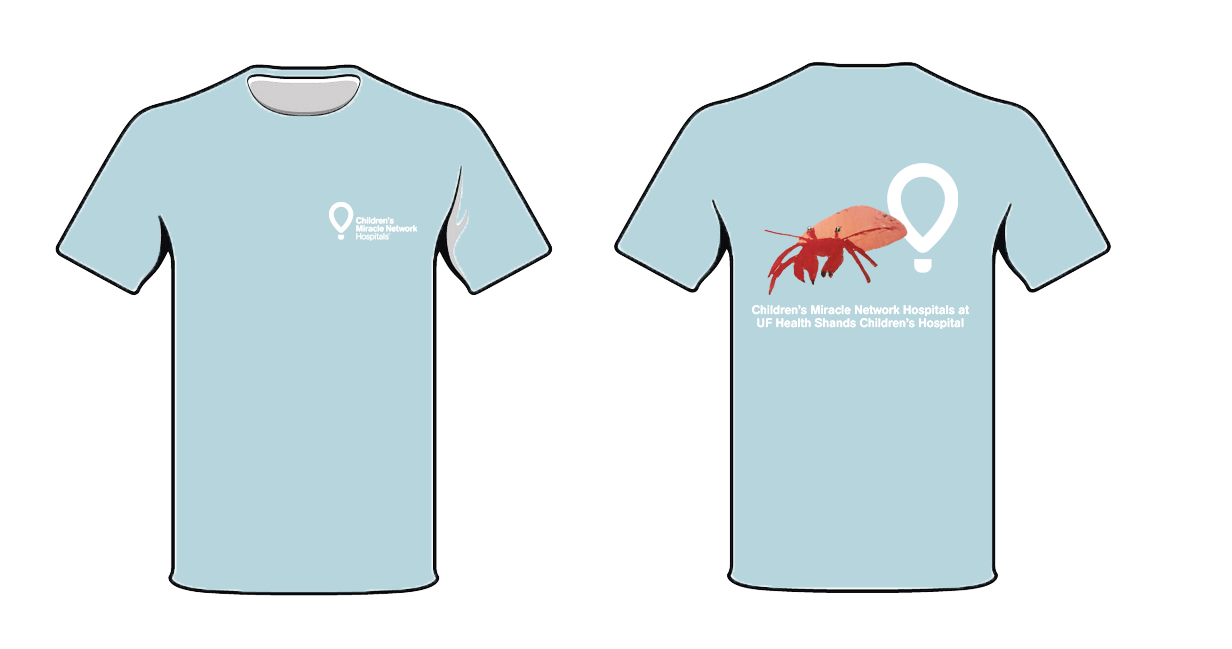 Crab T-shirt for CMN Store Days