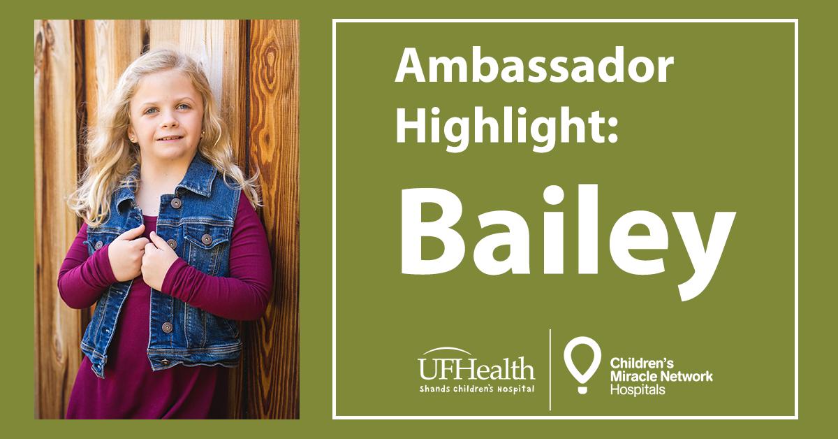Bailey Abbott CMN Ambassador