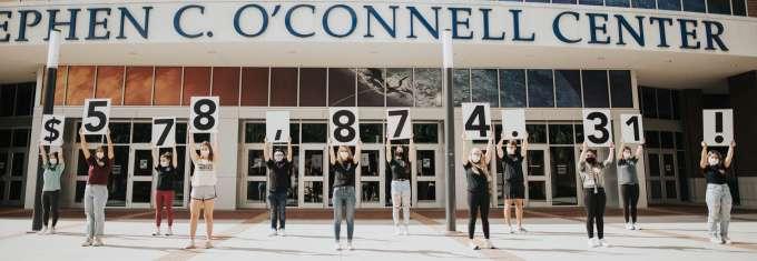 University of Florida push day total