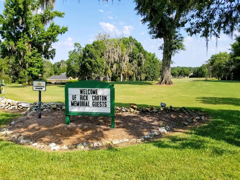 The Country Club of Ocala awaits golfers during the 2019 Rick Croton Memorial Golf Tournament.