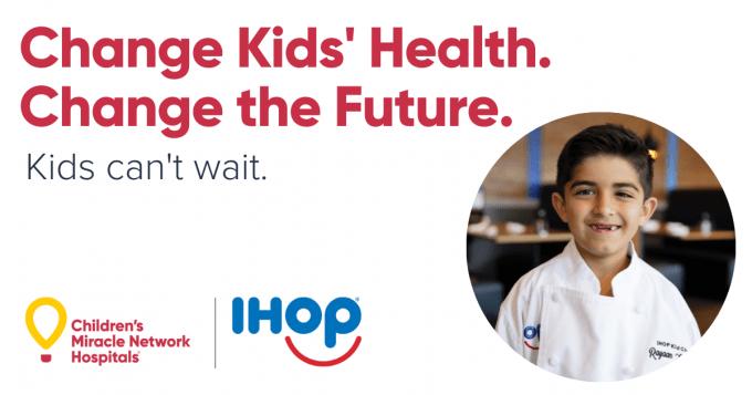 IHOP Kid Chef Rayaan smiles.